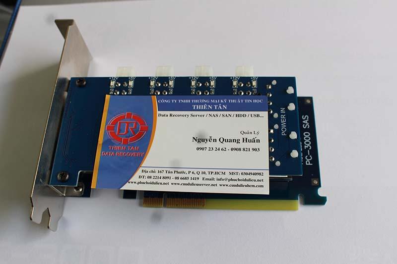 Tool Cứu dữ liệu PC3000 SAS