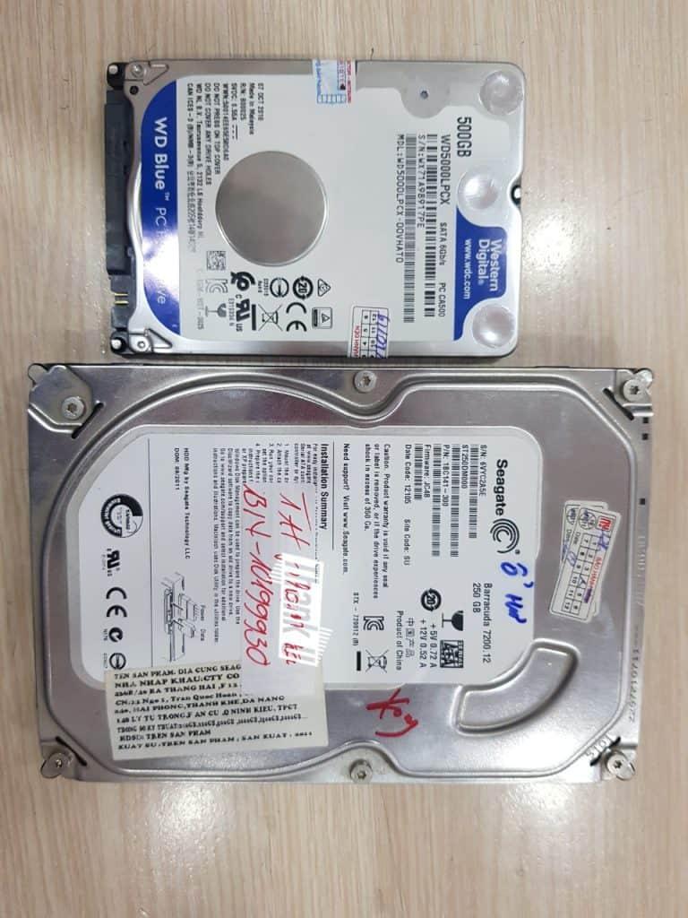 Phục hồi dữ liệu ổ cứng seagate