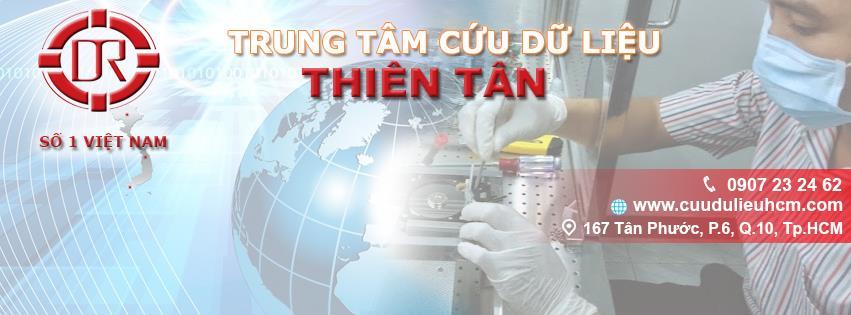 Tại sao chọn Cứu dữ liệu Thiên Tân