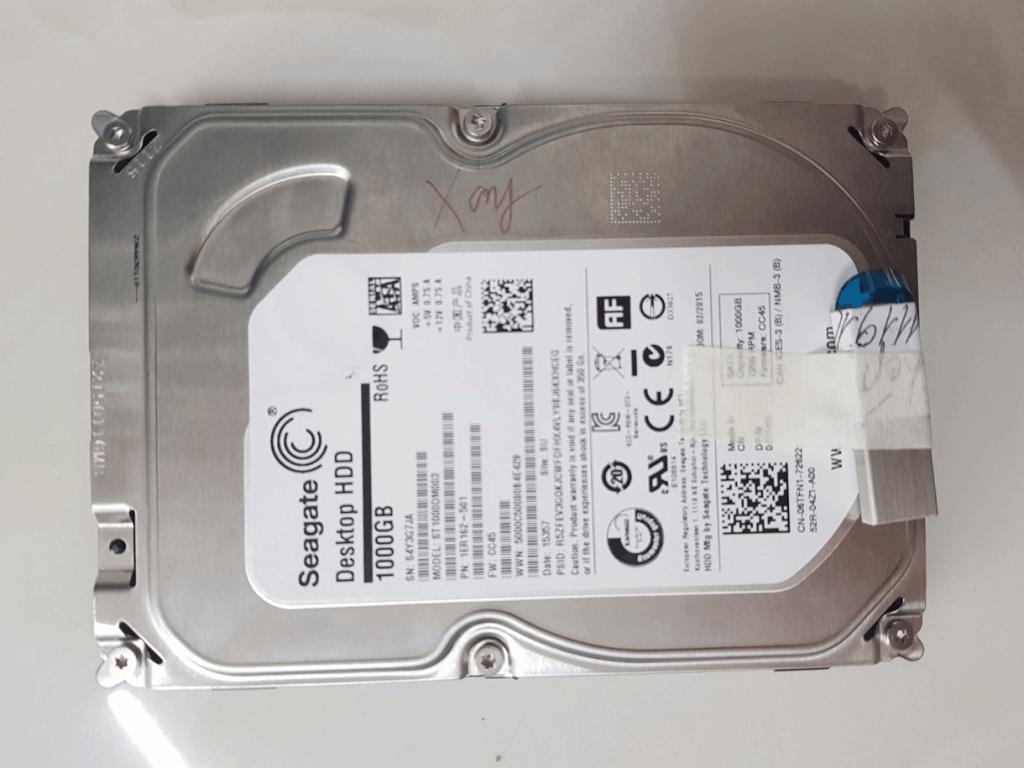 Phục hồi dữ liệu  HDD