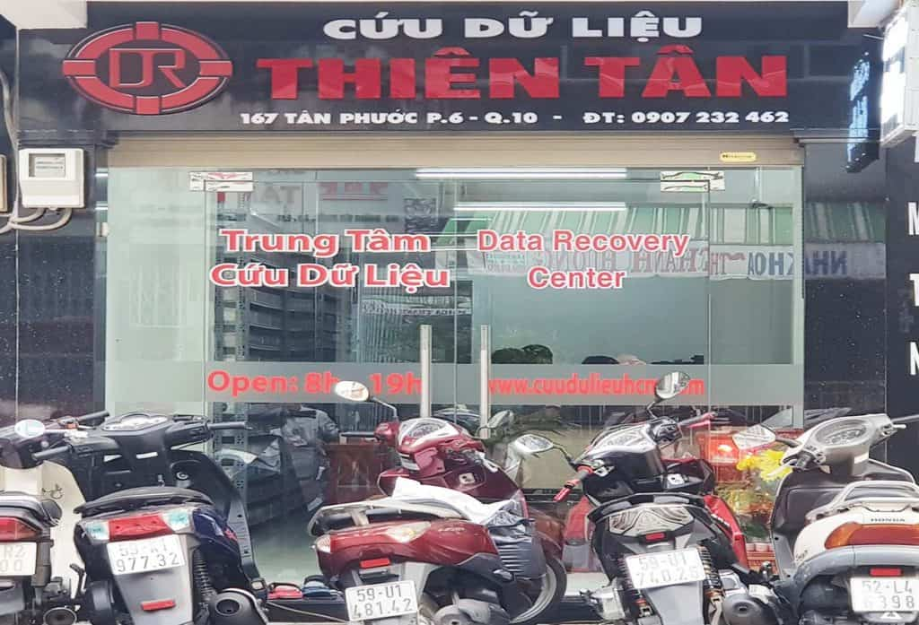 Cứu dữ liệu Thiên Tân Quận 10