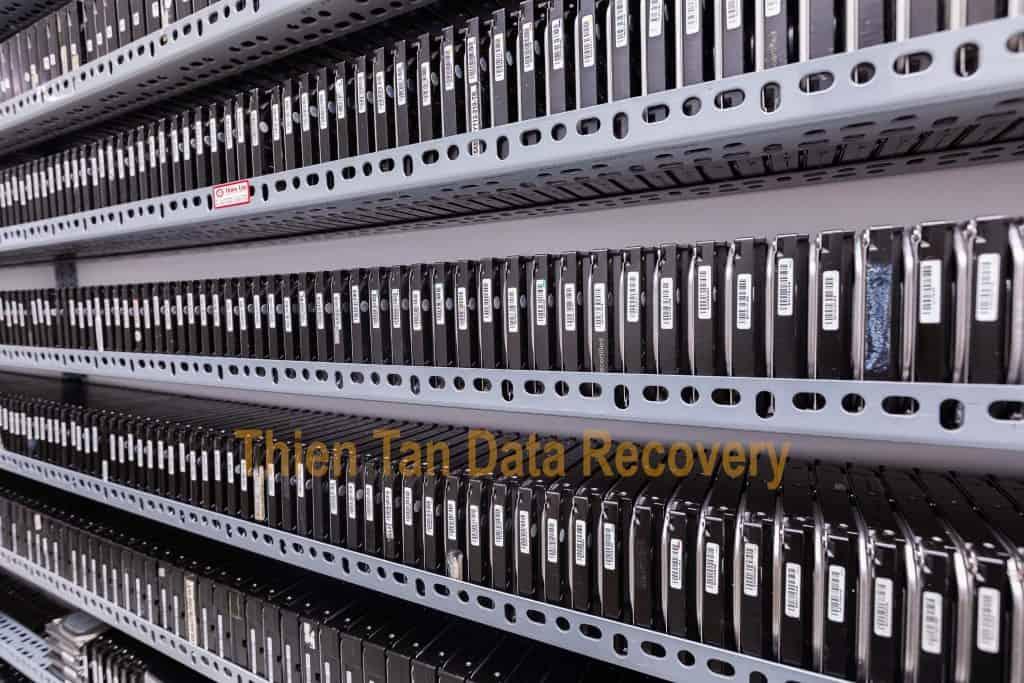 Kho ổ cứng tại Cứu dữ liệu Thiên Tân