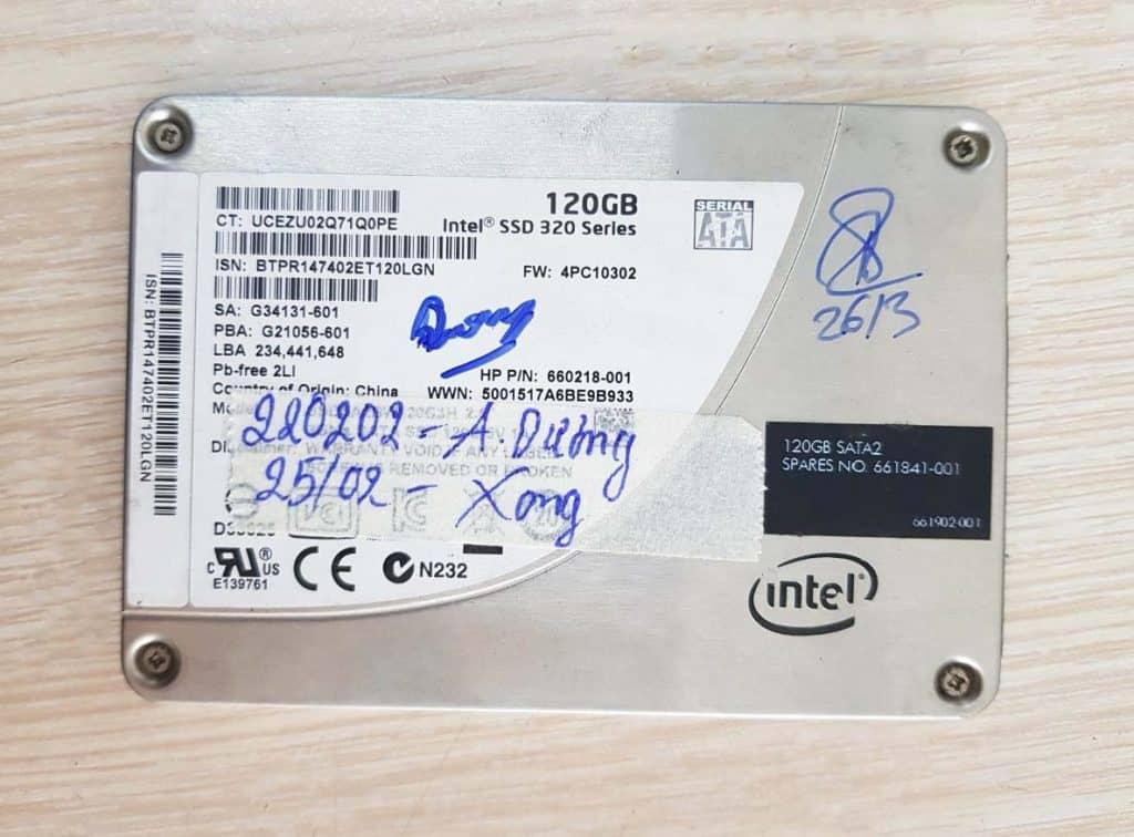 Cứu dữ liệu SSD không nhận