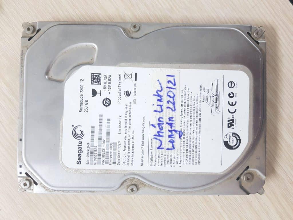 Cứu dữ liệu ổ cứng lỗi Fimware