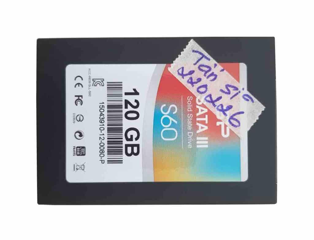 Phục hồi dữ liệu SSD