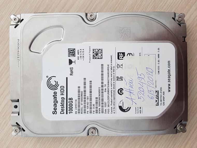 Cứu dữ liệu ổ cứng bị hư