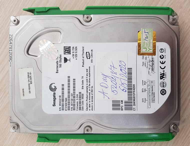 Cứu dữ liệu ổ cứng máy tính không nhận