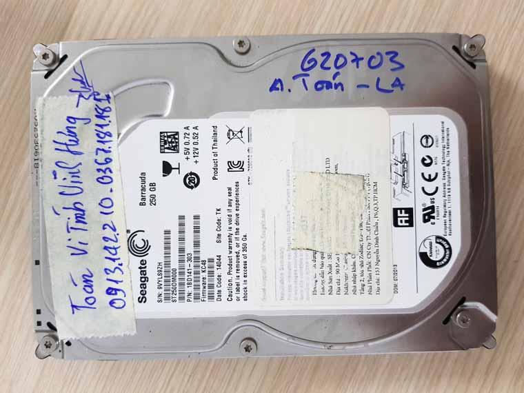 Phục hồi ổ cứng không truy xuất  được data