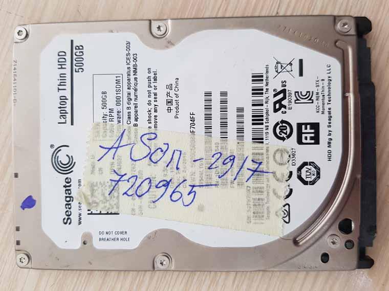 Khôi phục dữ liệu Laptop Thin HDD